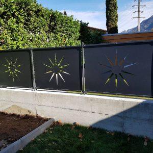 recinzioni ferro modulari pannelli