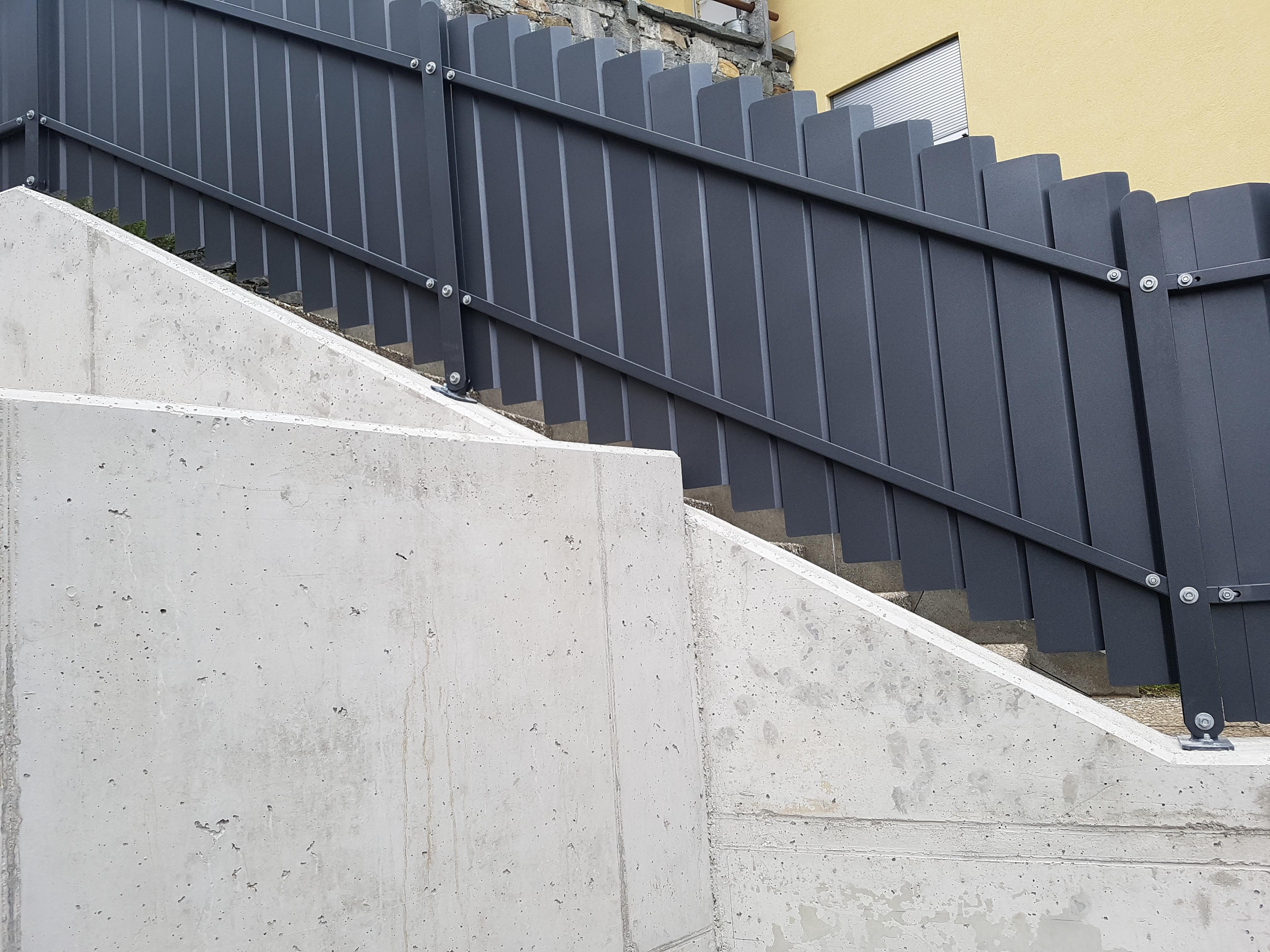 Recinzione Giardino In Ferro piazzogna - recinzioni in ferro ticino